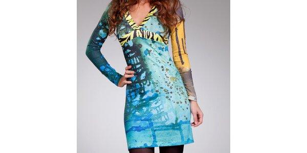 Dámske šaty so zebrovanými lemami Culito from Spain