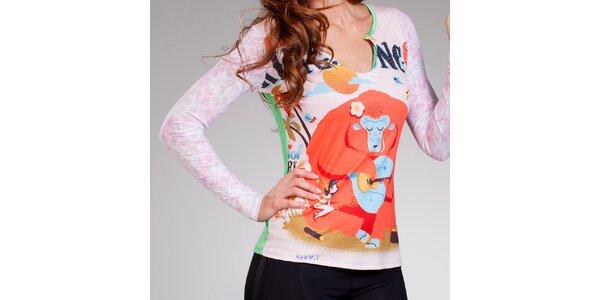 Dámske tričko s vtipnou potlačou Culito from Spain