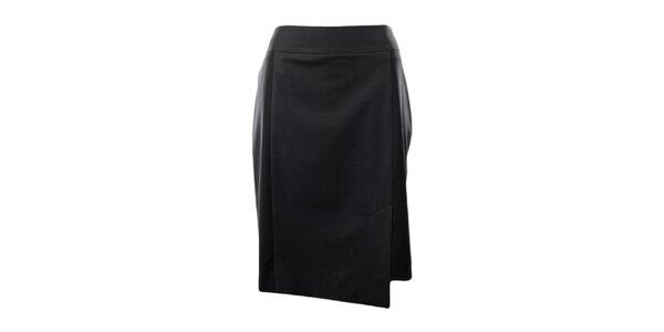 Dámska čierna púzdrová sukňa Pietro Filipi