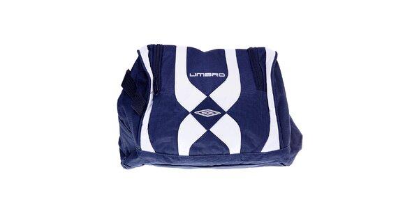 Pánska modro-biela taška na topánky Umbro
