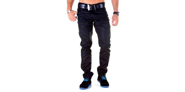 Pánske čierne nohavice Cipo & Baxx