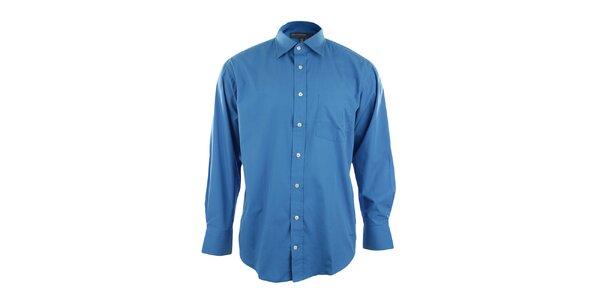 Tmavo modrá pánska košeľa Perry Ellis