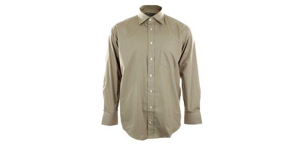 Pánska košeľa vo farbe žita Perry Ellis