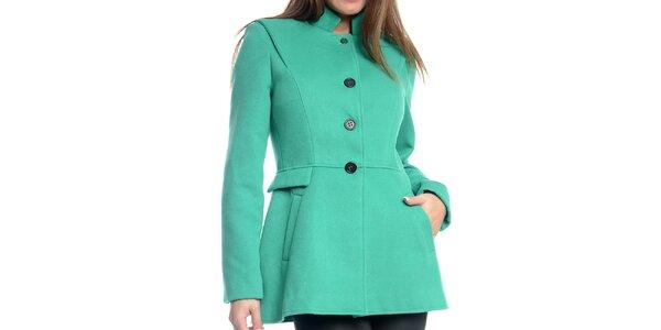 Dámsky krátky mätovo zelený kabátik Bella