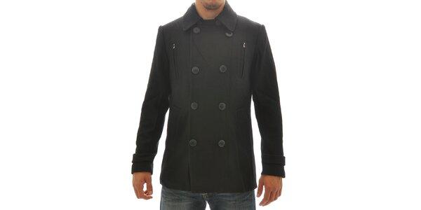 Pánsky čierny kabátik Amarican Life