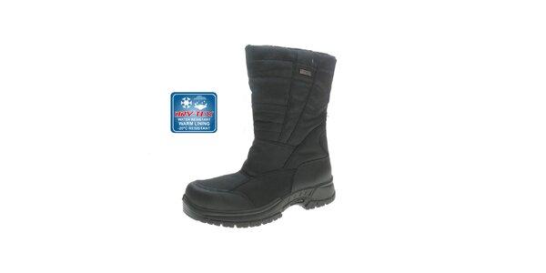 81b386a75727 Pánske čierne vysoké topánky Beppi