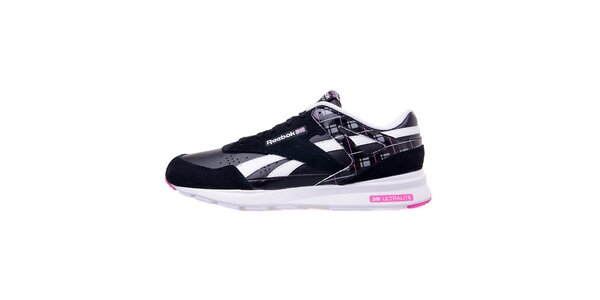 Dámske čierne športové topánky Reebook