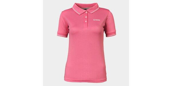 Dámske ružové funkčné pólo Sweep