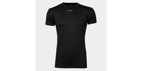 Pánske čierne funkčné tričko Sweep