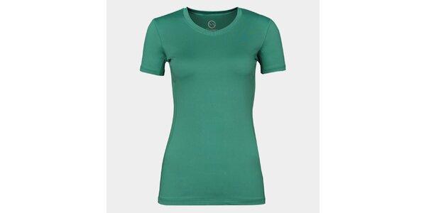 Dámske zelené funkčné tričko Sweep