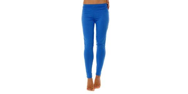 Dámske žiarivo modré pyžamové nohavice Calvin Klein