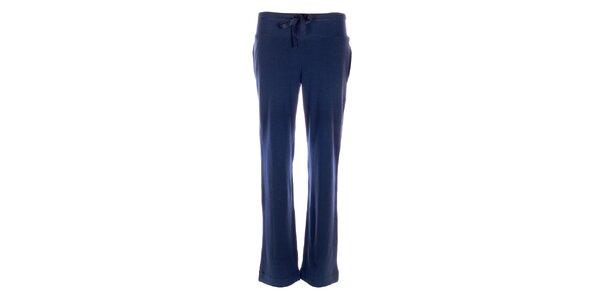 Dámske tepláky DKNY v modrej farbe
