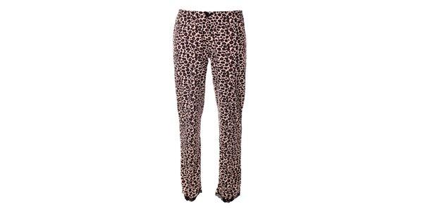 Dámske pyžamové nohavice s leopardím vzorom Vive Maria
