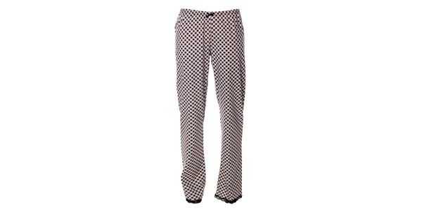 Dámske pyžamové nohavice s kockovaným vzorom Vive Maria