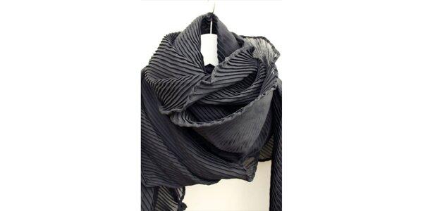 Dámsky plisovaný šál Fazane Malik