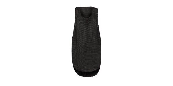 Dámske čierne šaty Fazane Malik