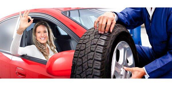 Prezutie a vyváženie kolies na automobile