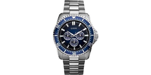 Pánske oceľové hodinky Guess