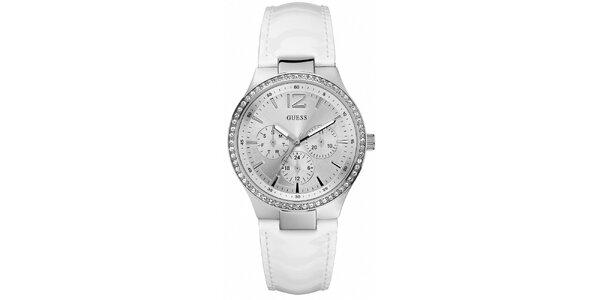 Dámske biele hodinky Guess