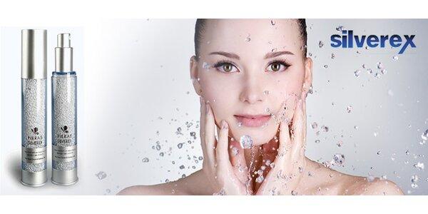 Liečivý sprej Silverex alebo ručná sprchová hlavica Silverex s obsahom striebra