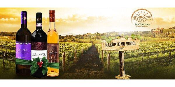 Kvalitné toskánske vína