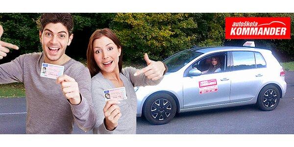 Kurz autoškoly. Spravte si vodičák za 8 - 10 týždňov