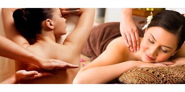 Klasická a kombinovaná masáž s bankovaním