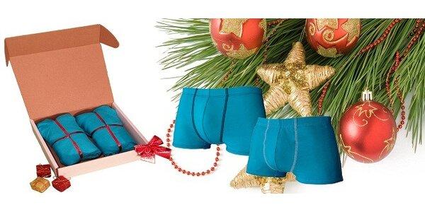 Darčekové balenie 2 ks pánskych vysoko kvalitných bambusových boxeriek značky…