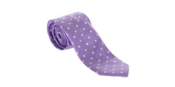 Pánska hodvábna kravata Hackett London