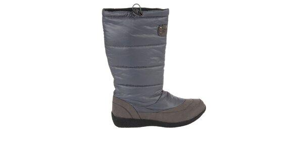 Dámske šedé zimné topánky Praylas