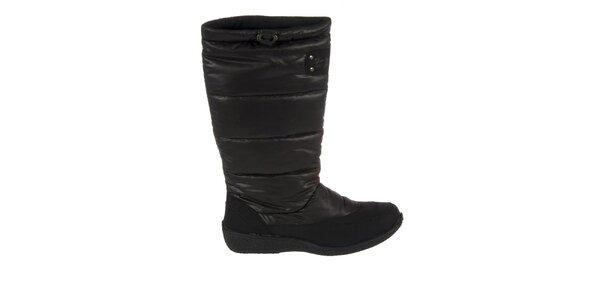 Dámske čierne zimné topánky Praylas