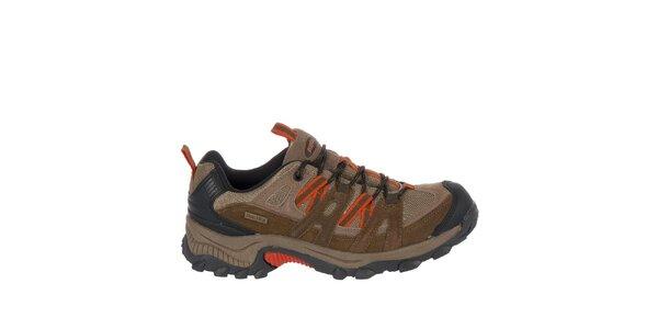 Pánska béžová outdoorová obuv Praylas
