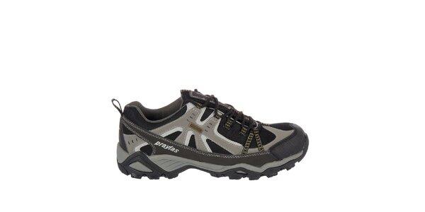 Pánska čierna outdoorová obuv Praylas