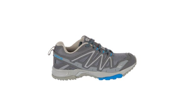 Pánske šedozelené bežecké topánky Praylas