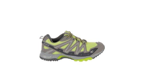 Pánske šedomodré bežecké topánky Praylas