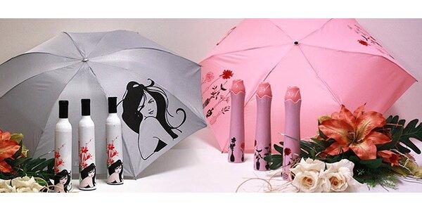 Originálne dáždniky pre celú rodinu
