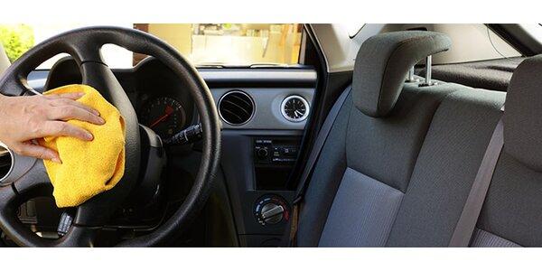 Kompletné umytie a čistenie interiéru vozidla. Teraz za super cenu