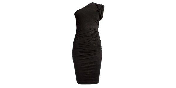 Dámske trblietavé priliehavé šaty JDC London