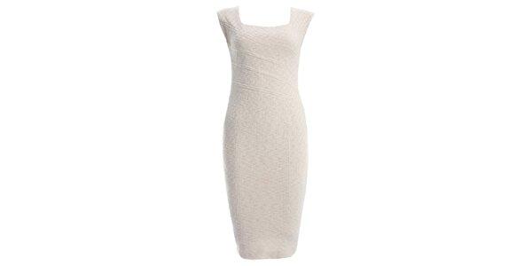 Dámske krémové šaty JDC London