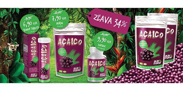 Najsilnejší prírodný antioxidant ACAICO