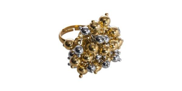 Dámsky dvojfarebný prsteň Esprit