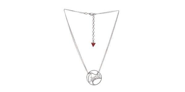 Dámsky ocelový náhrdelník Guess