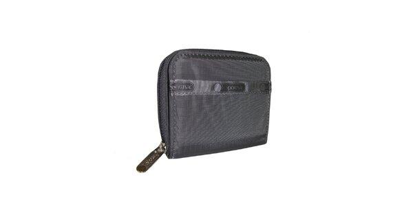 Šedá peňaženka LeSportsac