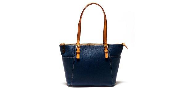 Dámska modrá kabelka Luisa Vannini