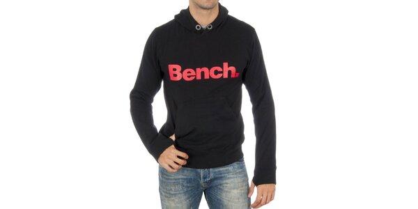 Pánska čierna mikina Bench