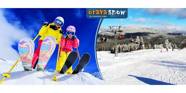 Celodenný skipas ORAVA SNOW