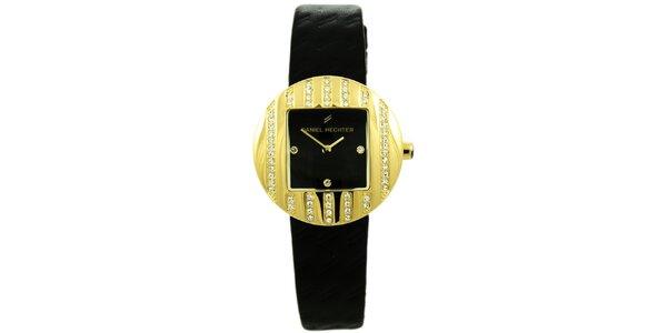 Dámske hodinky so štvorcovým ciferníkom Daniel Hechter