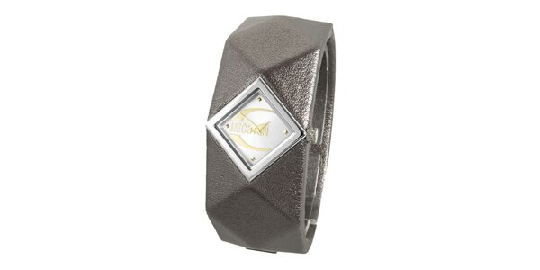 Dámske oceľové náramkové hodinky Just Cavalli s pyramídkami
