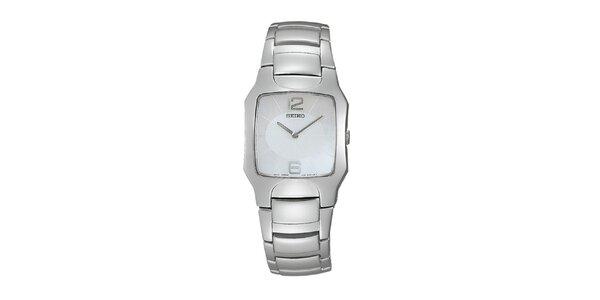 Dámske oceľové hodinky Seiko