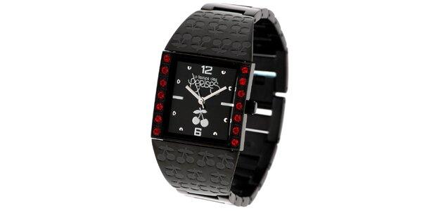 Dámske hodinky s kamienkami Le Temps des Cerises